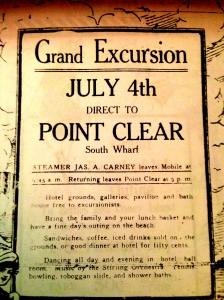 Grand Excursion July 4, 1914
