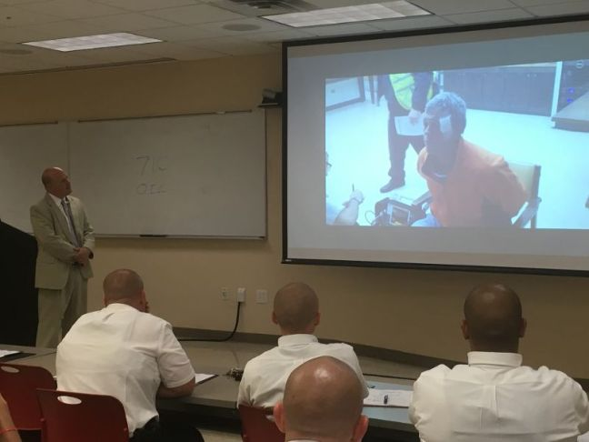 police academy lecture
